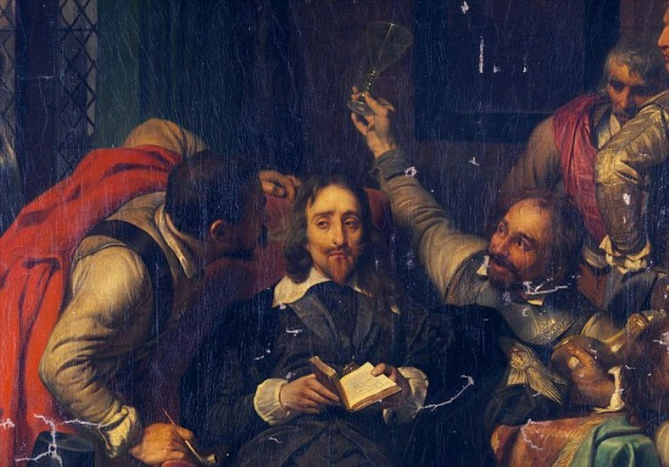 Paul Delaroache, Charles I Insulted by Cromwell's Soldiers
