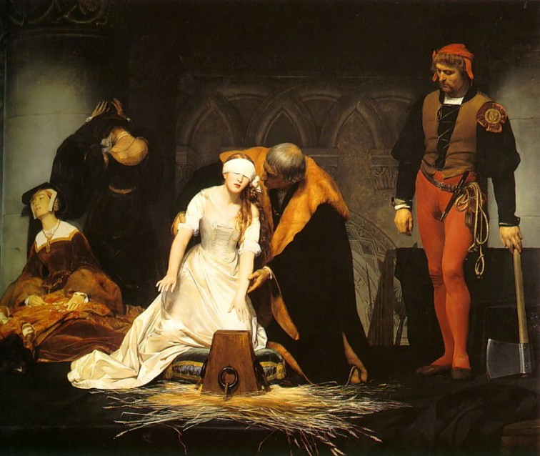 Paul Delroache, The Execution of Lady Jane Grey
