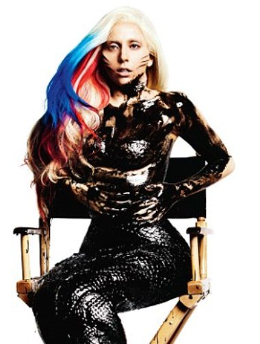 Is Lady Gaga's Oily Mermaid Off Message? (photos) 3