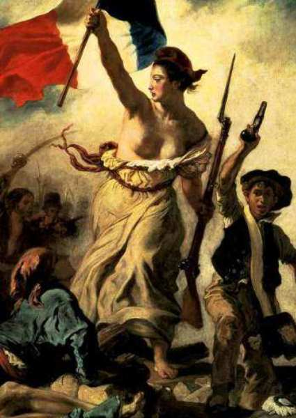 Eugene Delacroix Defaced Liberty Raises Security Issues Anew 6