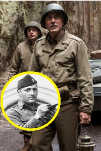George Clooney's Monuments Men in Real Life Featured at The Met 2