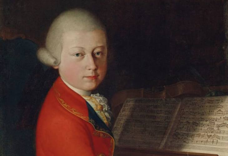 Mozart 1770 Portrait Set for Sale in Paris After Astonishing Journey