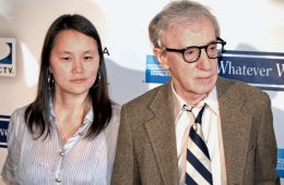 Soon-Yi and Woody Allen. She's steadfastly standing by her man. (Photo: David Shankbone)