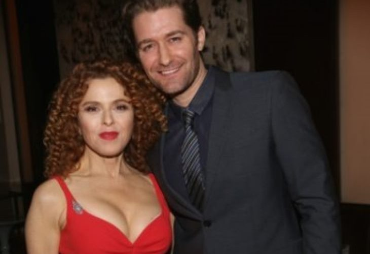 "Bernadette Peters and Matthew Morrison, of Fox's hit show ""Glee"" performed a the Prostate Cancer Foundation dinner in New York City. (Photo: PFC)"