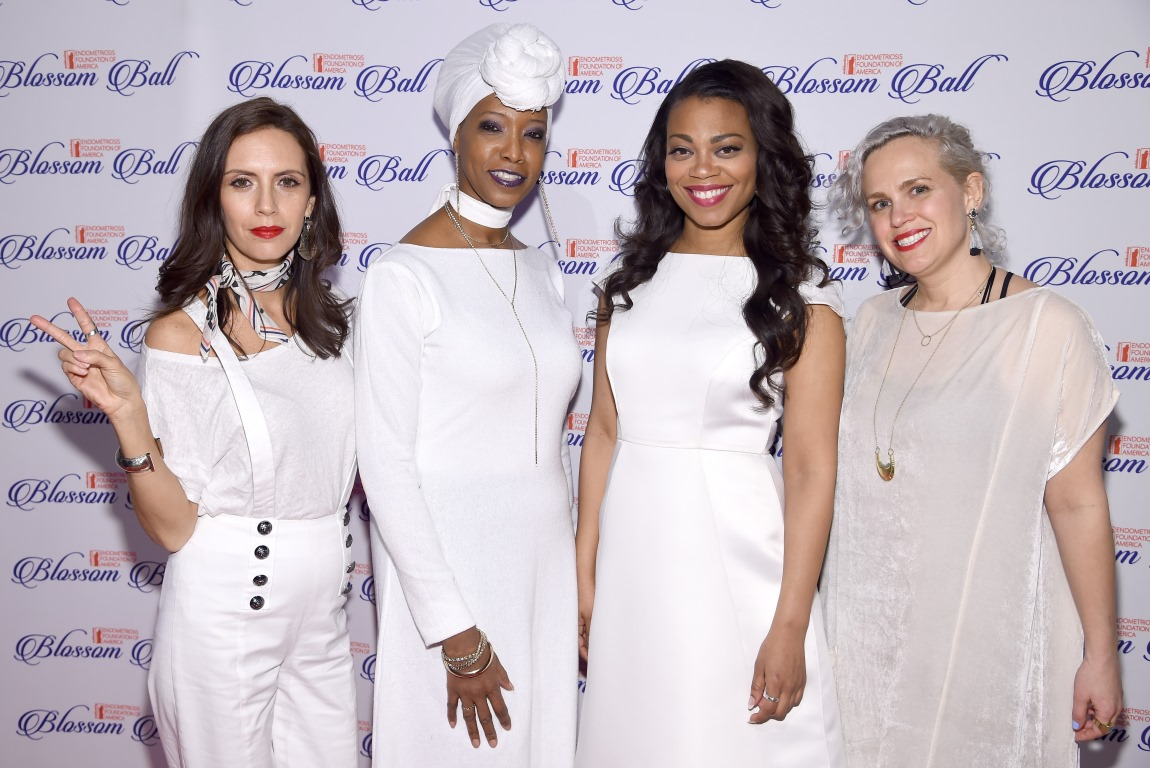 blossomball-23-Resistance Revival Chorus Founders, Paola Mendoza, Jessi Olsen, Meah Pace, Ginny Suss 2 Getty