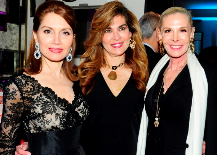 Jean Shafiroff, Lauren Vernon, and Michele Herbert attended the The New York Center For Children'LiftMeUp' 2018 Spring Benefit at The Peninsula Hotel in New York City. (Photo: Patrick McMullan)