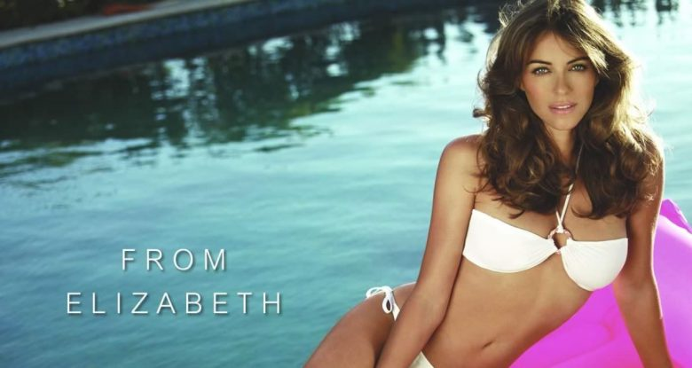 Elizabeth Hurley Knows How to Market Swimsuit Line– Go Topless! (photos!)