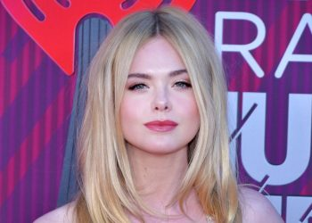 Elle Fanning is all grown up , pictured here at the 2019 iHeartRadio Music Awards. (Photo: Glenn Francis)