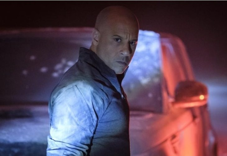 Vin Diesel is rolling so coal in his new movie 'Bloodshot.' (Photo; Sony Pictures)
