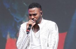 Jason Derulo has a rocket in his pocket and he's proud of it. (Photo: Bang ShowBiz)