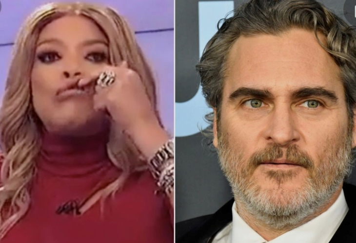 Cher posted this photo collage on Twitter calling out Wendy Williams for mocking Joaquin Phoenix. (Photo:  Cher/Twitter)
