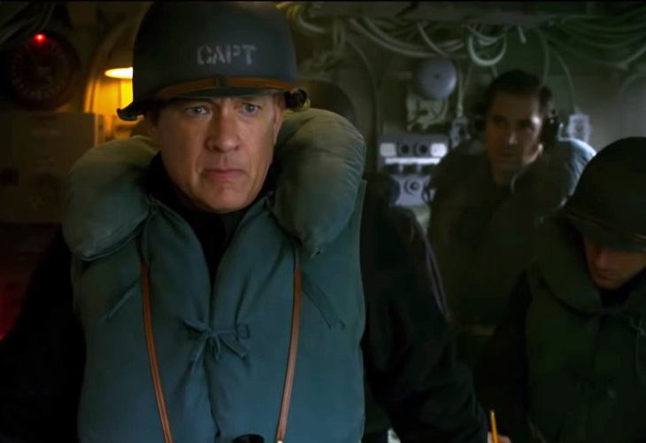 Tom Hanks Goes Back to War in High Seas U-Boat Combat; See New Trailer!