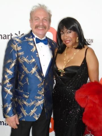 Mark Bego and Mary Wilson of the Supremes