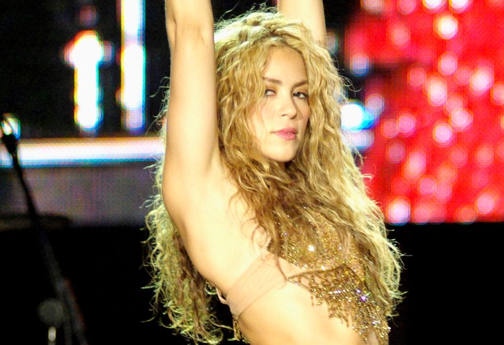 """Shakira unleashes her sensuality in a new song """"Me Gusta."""" Traslated: """"I Like."""" (Photo:"""