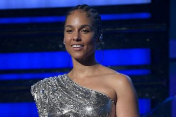 Hosting a major awards show like the Grammys is no easy task, says Alicia Keys. (Photo: Bang ShowBiz)