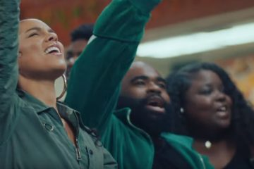 Alicia Keys takes her music to the streets in new Underground video. (Photo: ScreenCap/YouTube)