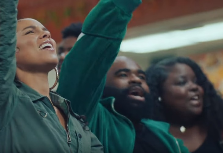 Alicia Keys Busts a Move for Downtrodden in New Underground Video (watch!)