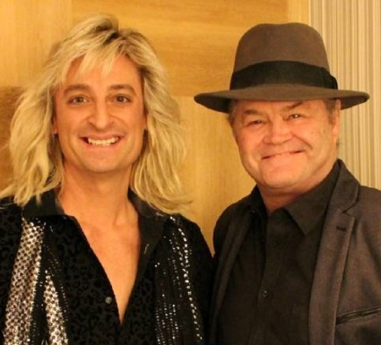 Monkee Micky Dolenz and Romeo Delight front-man Buddy Blanch. (Photo DisCompany)