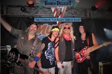 Romeo Delight, which bills itself as the ultimate Van Halen tribute band, is part of a trend that's gaining in popularity. (Photo: DisCompany)