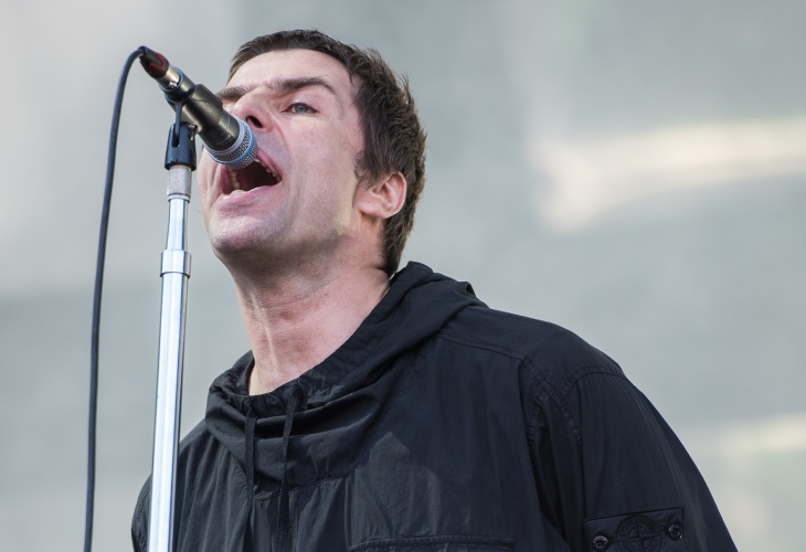 Liam Gallagher, former Oasis frontman, says his long-running feud with Robbie Williams is over. (Photo:
