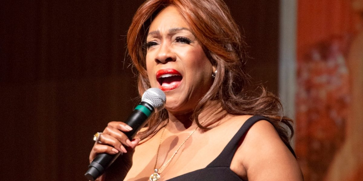 Mary Wilson sings in Dec. 2019 for Friends of the LBJ Library. (Photo: Jay Godwin)