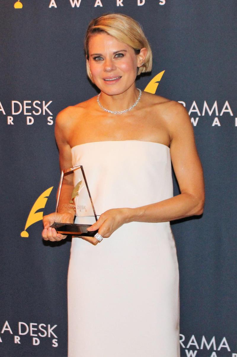 Outstanding Featured Actress in a Play winner  Celia Keenan-Bolger for To Kill A Mockingbird.