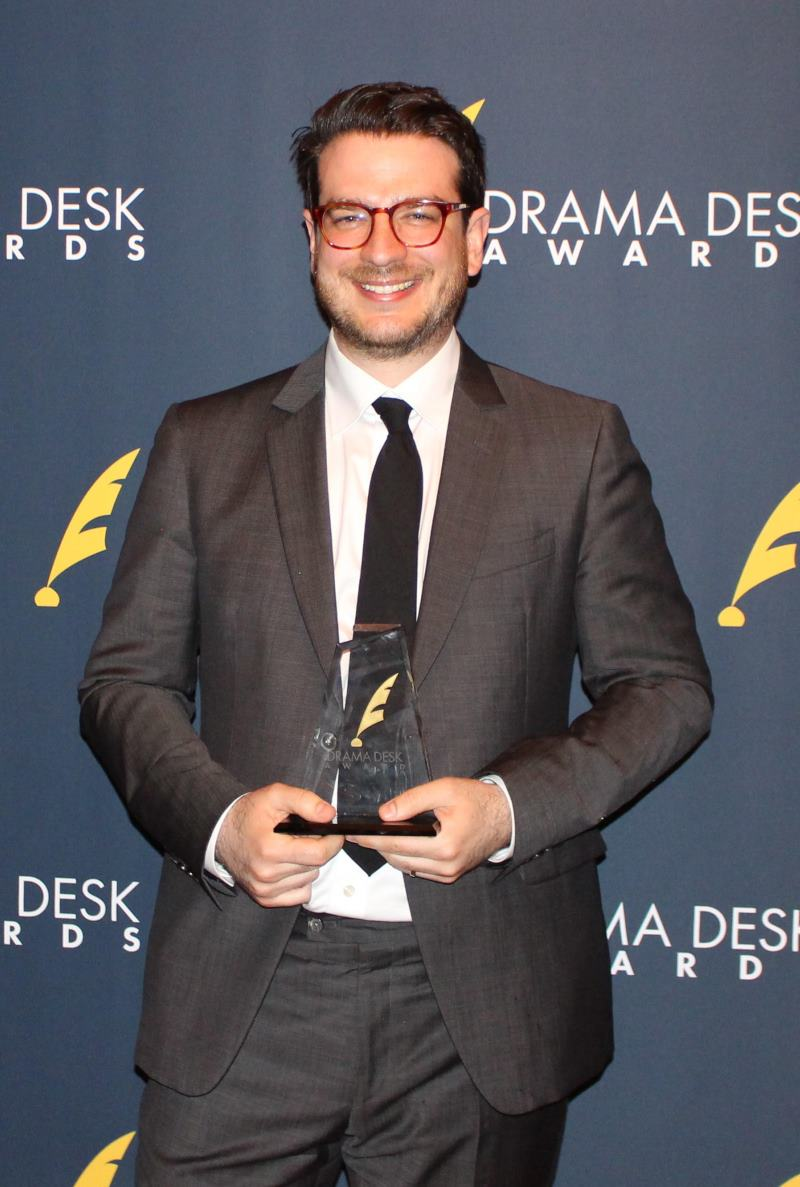 Outstanding Orchestrations winner Daniel Kluger for Rodgers & Hammerstein's Oklahoma!