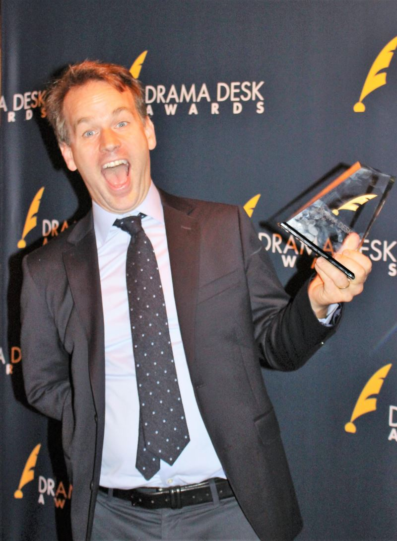 Outstanding Solo Performance winner Mike Birbiglia for The New One