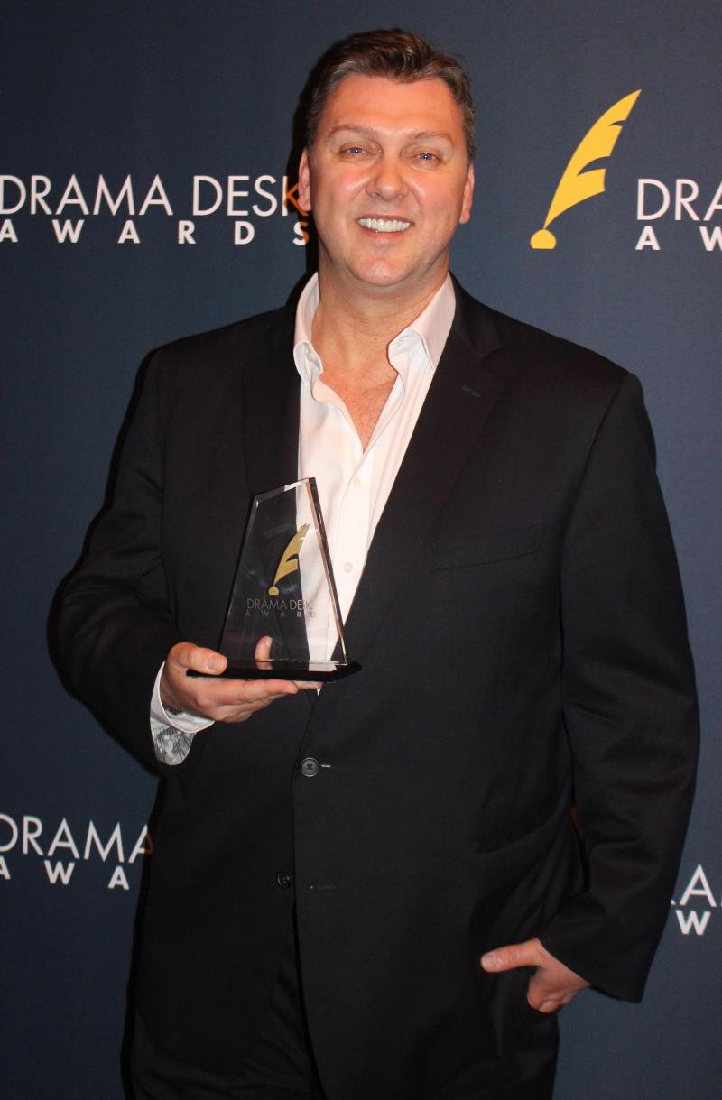 Outstanding Choreography winner Warren Carlyle for Kiss Me Kate