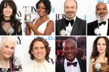 Go back stage with stars from the 74th Tony Awards.