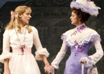 Charlotte Parry (left), and Sara Topham star in The Importance of Being Earnest.
