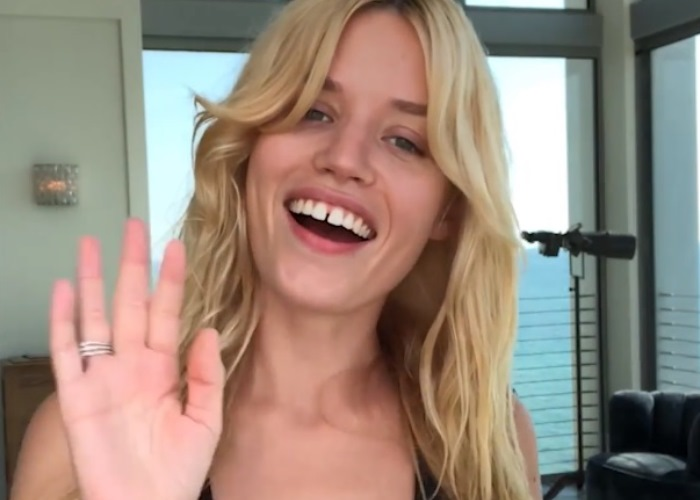 Georgia May Jagger Shares Her Low Maintenance Beach Beauty Regime (Video)