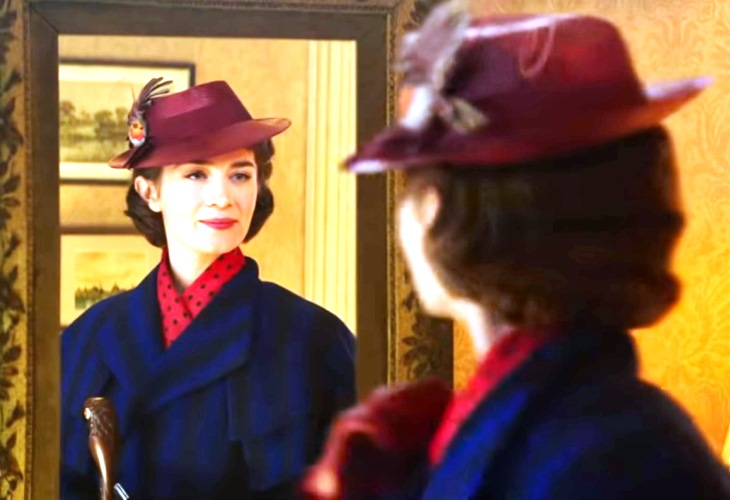 Mary Poppins Returns After Half-Century; She's Hardly Aged!  (See New Trailer!)