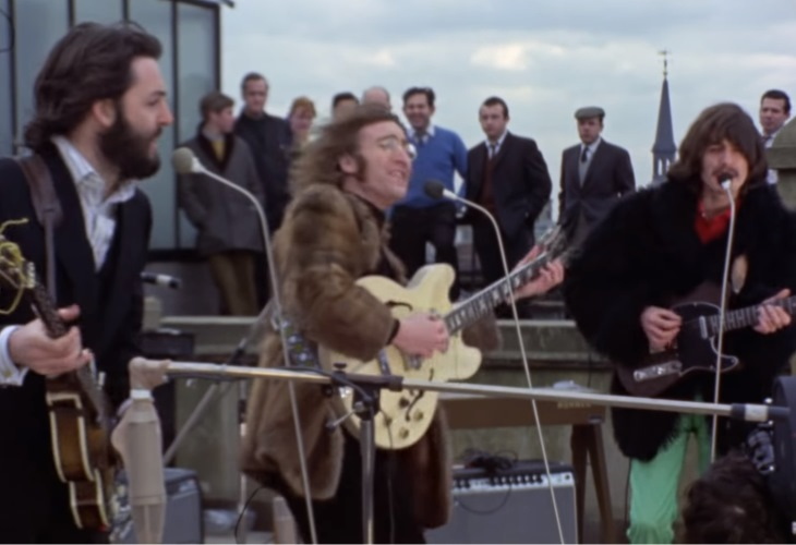 It Was 50 Years Ago Today… The Beatles Last Blast on Savile Row Rooftop (video)