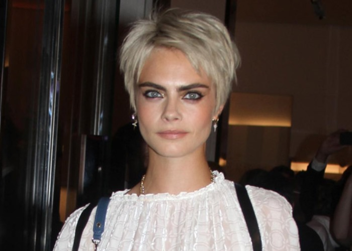 Cara Delevingne Shot to Fame as a Model, But She' Rather Go Without… Clothes!