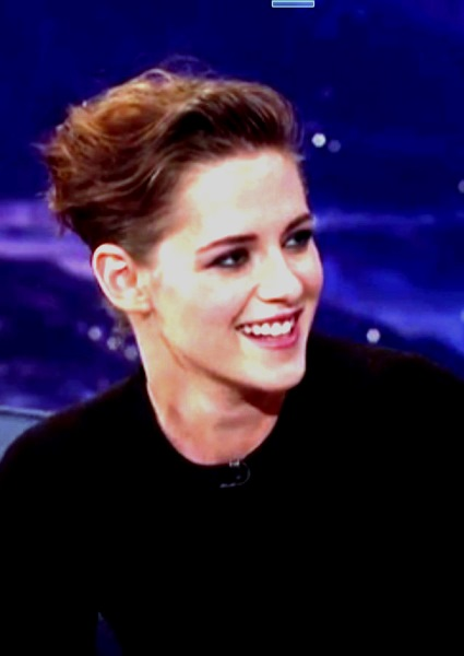 Kristen Stewart Tips Nature of Alicia Cargile Relationship on Conan (watch!) 11