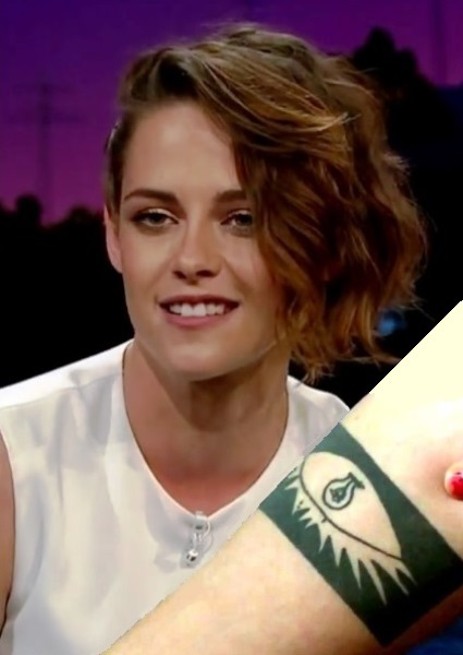 Kristen Stewart Liked Her Fake Tattoo So Much, She Got a Real One (watch!) 22
