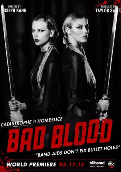 Taylor Swift Bad Blood Drama: Her Busted Stunt, Kendall Jenner Snub 16