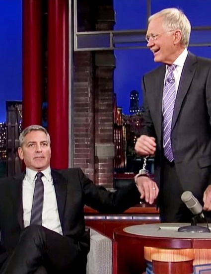 George Clooney Has a Plan to Keep David Letterman at His Desk (watch!) 16