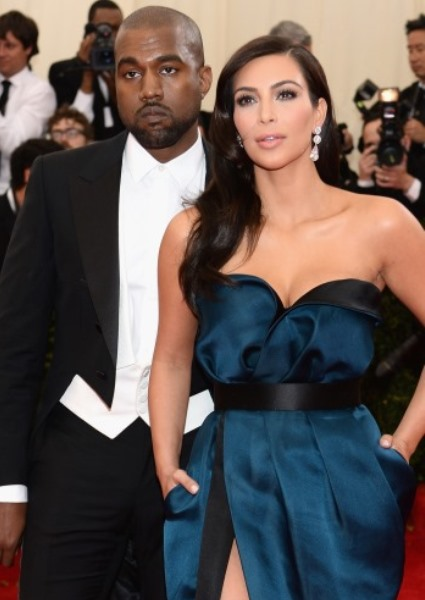 Kim Kardashian and Kanye West have been hit by new tabloid divorce rumors. But denials are coming fast and furiously.   (Photo: Getty)