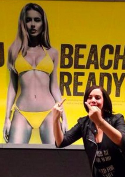 Beach Body Ad That Sparked UK Outrage, Invades New York City (see!) 30