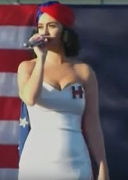Katy Perry Roars for Hillary Clinton; See Top Celebs Backing Candidate (video) 2