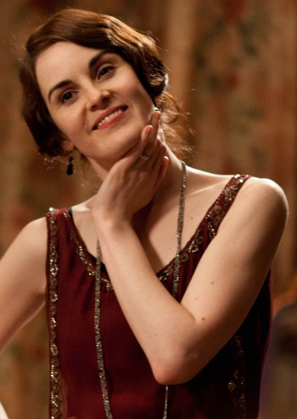 Downton Abbey Star Michelle Dockery Tragedy Mirrors Lady Mary on Show 4