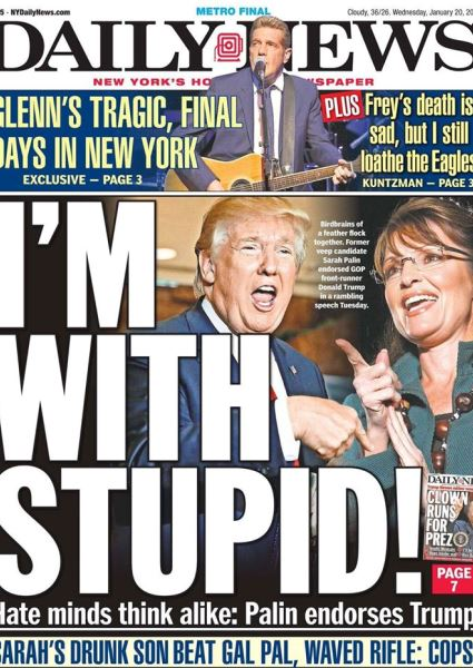 Sarah Palin Embraces Donald Trump: Is It Kiss of Death for His Campaign? 6