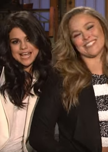 Selena Gomez Teams With Rhonda Rousey For Sexy SNL Promo (Watch!) 2