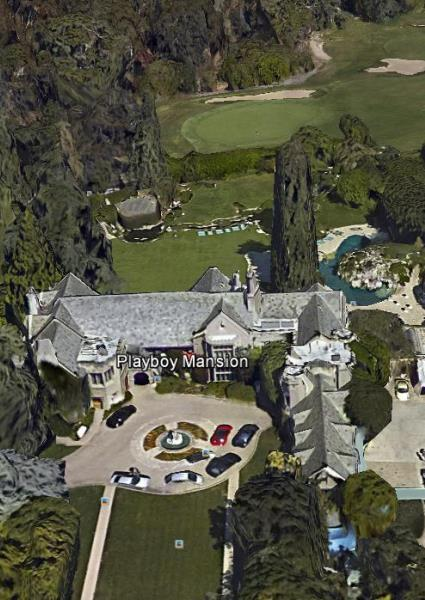 Playboy Era Grinds to Close: Hef's Notorious LA Mansion For Sale 22