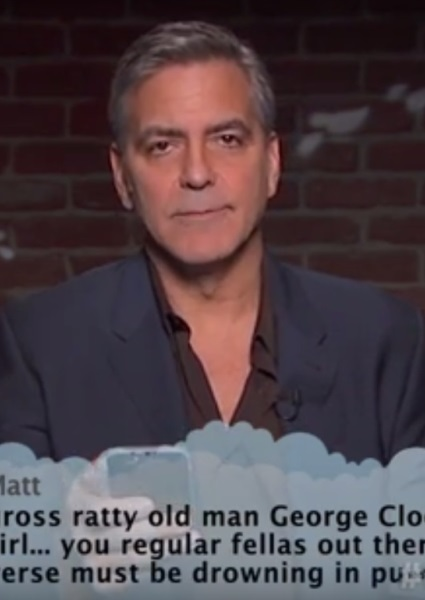George Clooney, A-Listers  Read Mean Tweets to Salute Oscars (watch!) 2