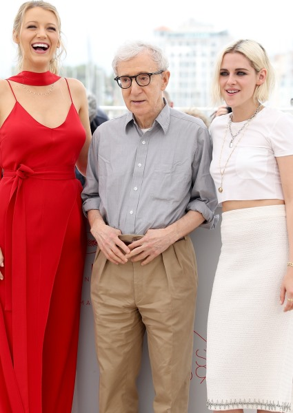 Kristen Stewart, Blake Lively Stand By Woody Allen at Cannes Festival (pics!) 32