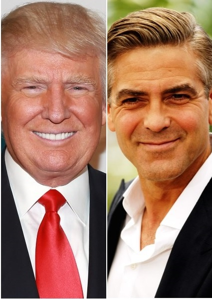 Donald Trump, George Clooney Political Face Off: Who Would You Vote For? 12