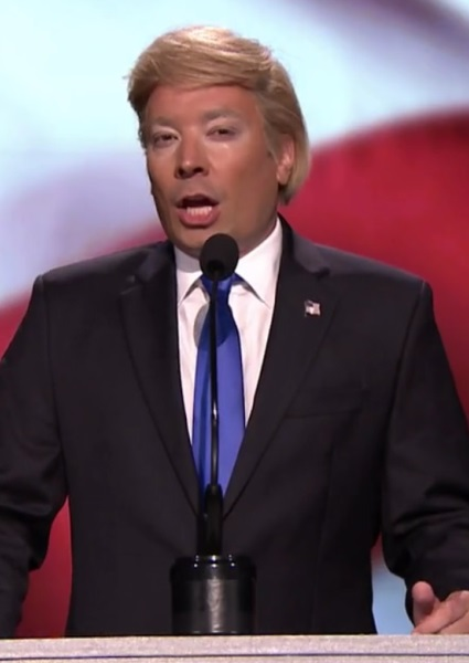 Jimmy Fallon Emerges From Mist as Donald Trump in Hilarious Skit (see!) 7